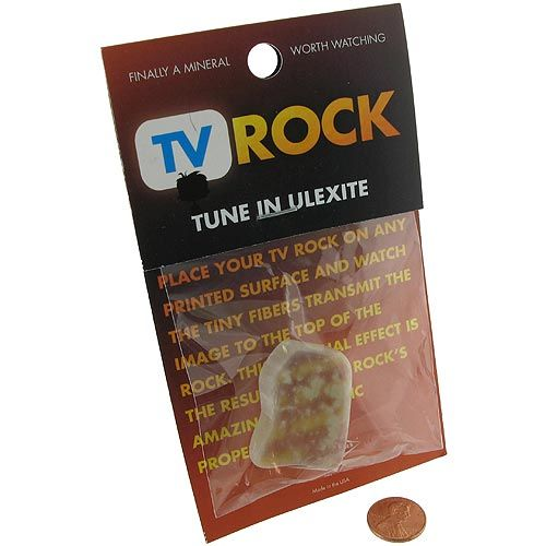 TV Rock - Ulexite - Image one
