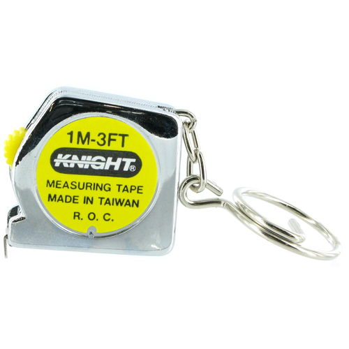 Tape Measure Keychain - Image one