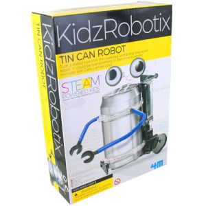 Tin Can Robot 4M Kit - Image One