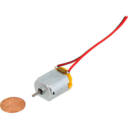 DC Motor 130 - 1.5-6V with leads - Image one