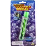 Ultraviolet Touchable Bubbles.