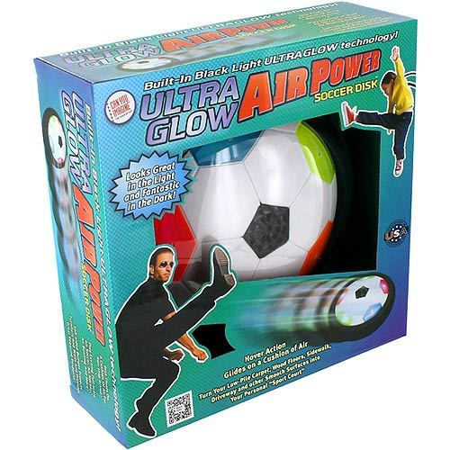 Ultra Glow Air Power Soccer Disc - Image one