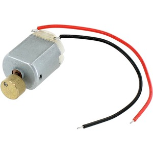 Vibration DC Motor 130 - 1.5-6V with leads - Image One