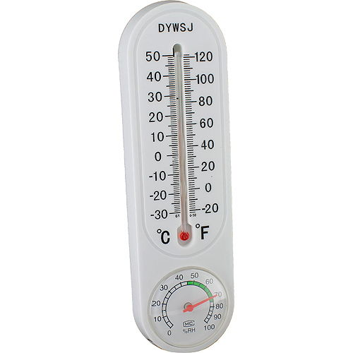Wall Thermometer with Hygrometer - Image one