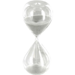 White Sand Hourglass - Image One