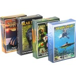Wilderness Survival Cards 4-pack Set.