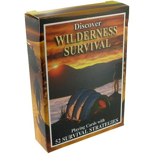 Wilderness Survival Playing Cards - Image one
