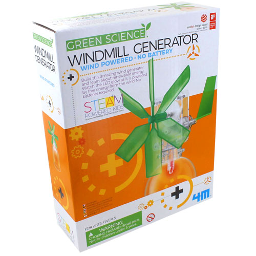 Windmill Generator 4M Kit (Image One) @ xUmp.com