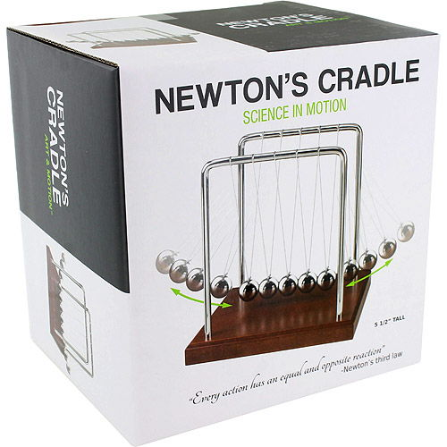 Wood Grain Newtons Cradle - Image two