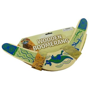 Wooden Boomerang - Image One