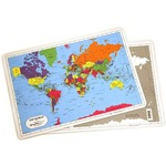 World Map Placemat.