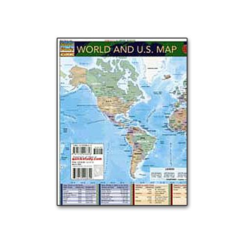 World and U.S. Map Chart - Image one