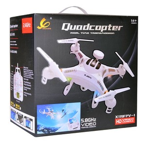 X119 FPV Quadcopter Drone - 6Ch 5.8GHz White - Image One