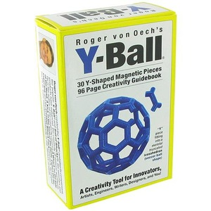 Y-Ball Magnetic Puzzle - Image One