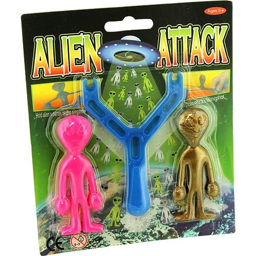 Alien Attack Sling Shot - Image one