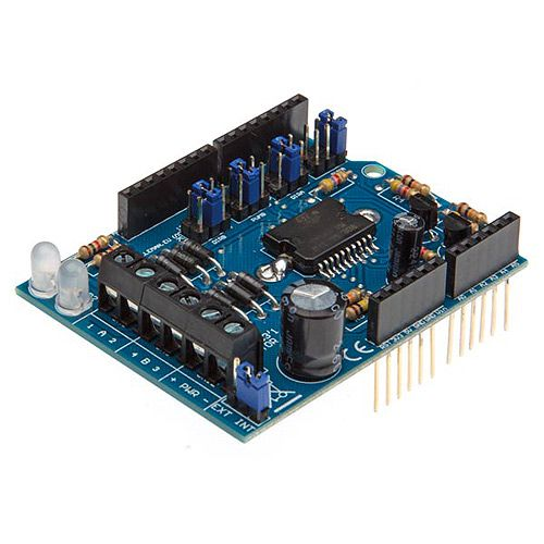 Motor and Power Shield for Arduino - Image one