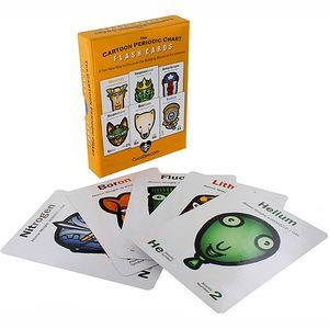 The Cartoon Periodic Chart Flash Cards - Image One