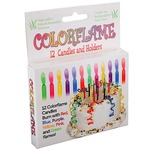 Colorflame Candles.