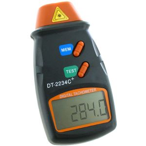 Digital Laser Tachometer | 2.5 - 99,999 RPM Meter - Image One