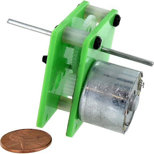 Geared DC Motor - Image one