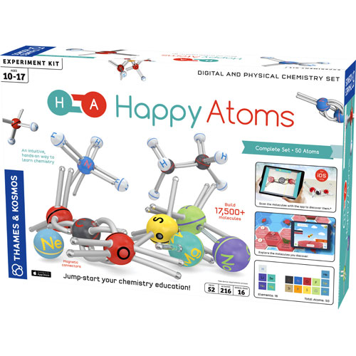Happy Atoms Kit - Complete Set - 50 Atoms - Image one