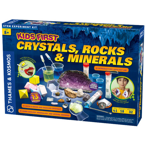 Kids First Crystals, Rocks & Minerals Kit - Image one