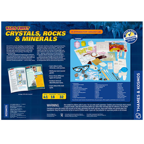 Kids First Crystals, Rocks & Minerals Kit - Image two