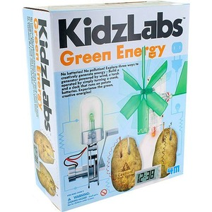 KidzLabs 4M Green Energy Kit - Image One