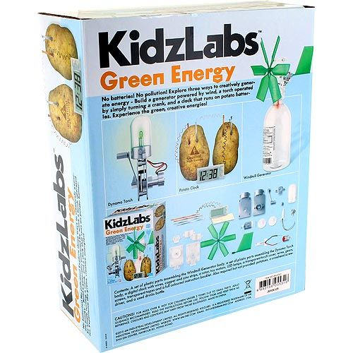 KidzLabs 4M Green Energy Kit - Image two