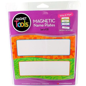 Magnetic Dry-Erase Name Plates - Image One