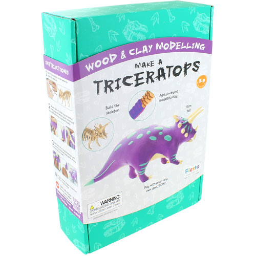 Make a Dinosaur - Triceratops - Image one