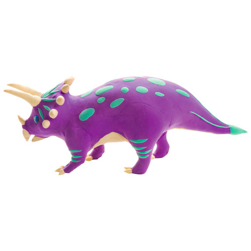 Make a Dinosaur - Triceratops - Image two