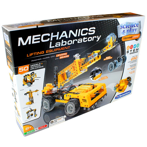 Mechanics Lab - Cranes - Motorized Construction Models Kit - Image one