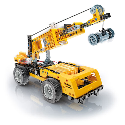 Mechanics Lab - Cranes - Motorized Construction Models Kit - Image two