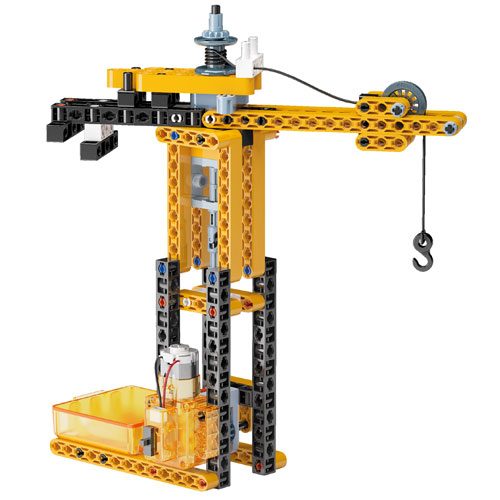 Mechanics Lab - Cranes - Motorized Construction Models Kit - Image three