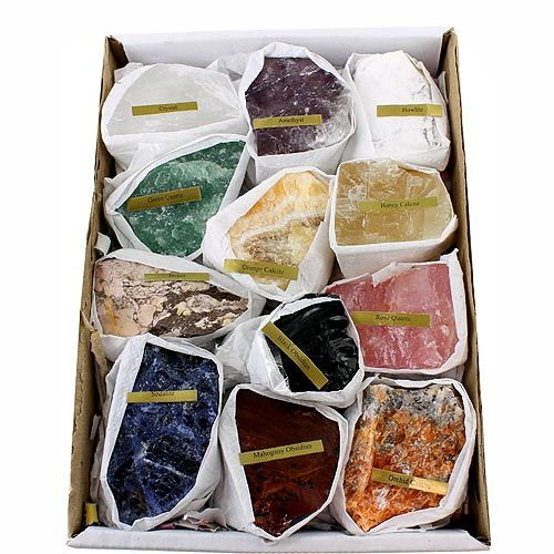 12 Minerals Educational Set - Image one