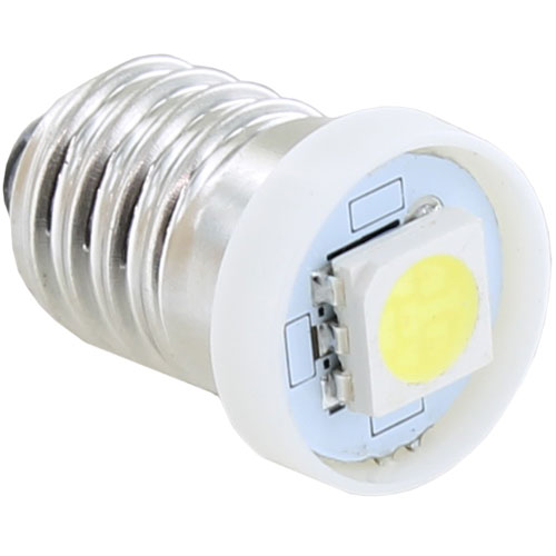 Mini COB Bulb - White - E10 3VDC 0.18W - Image one