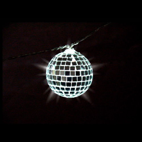 Mirror Ball String Light - Image one