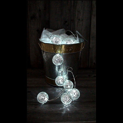 Mirror Ball String Light - Image two