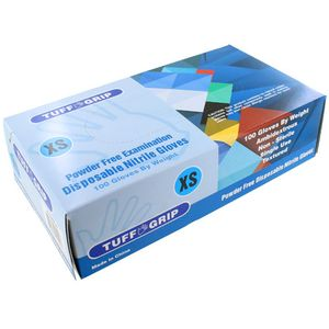 Nitrile Gloves for Kids - Powder Free X-Small - Image One