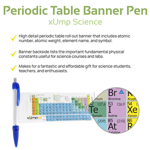 Periodic Table Pens - 10 pack - Image two