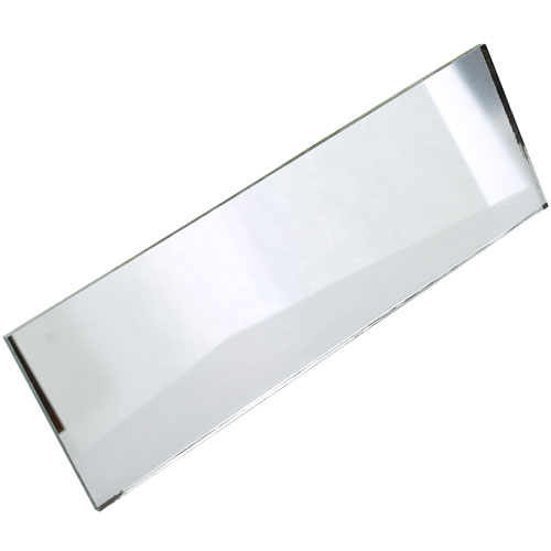 Plane Glass Mirror Strips - 2 x 6 inches - pack of 12 - Image one