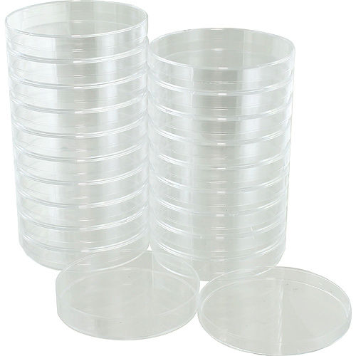 Plastic Petri Dishes - 85mm - pack of 20 - Image one