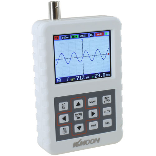 Rechargeable Pocket Digital Oscilloscope - 20MS/s 5MHz - Image one