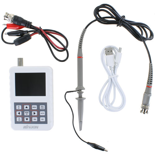 Rechargeable Pocket Digital Oscilloscope - 20MS/s 5MHz - Image two