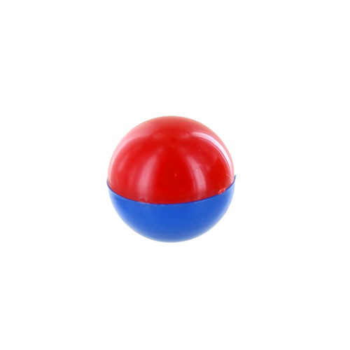 Red/Blue North/South Magnet Marble - Image one