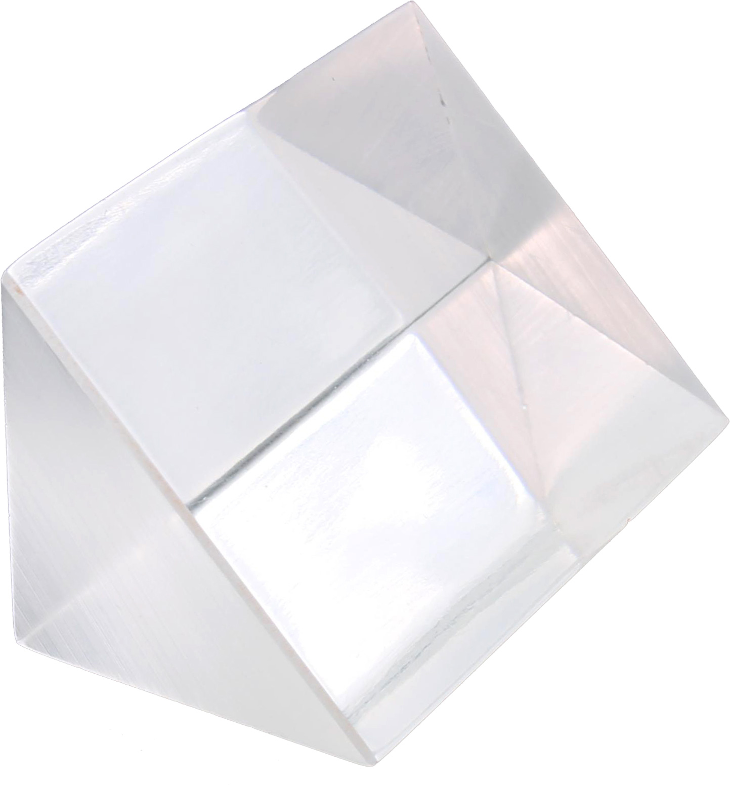 Right-Angle Acrylic Prism - 1 x 2 inches - Image one