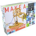 Make a Robotic Arm - Wood & Hydraulics Kit.