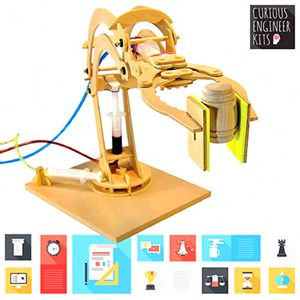 Make a Robotic Arm - Wood & Hydraulics Kit - Image two