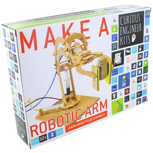 Make a Robotic Arm - Wood & Hydraulics Kit - Image one
